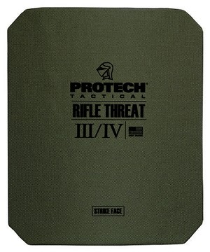 "HA-BR01 ICW Type III/IV Rifle Plate 10"" x 12"" - Protech Tactical"