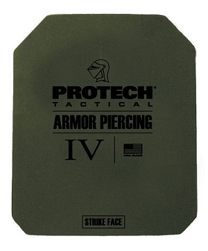 "2116G Type IV Rifle Plate 8"" x 10"" - Protech Tactical"