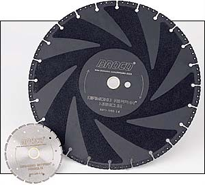 "Broco - Mini Ripper Diamond Blade (4.5"" diameter)"